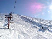 与塞戈维亚和马德里最好的意见滑雪11公里