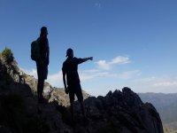 加盟德拉孔查的cicloturismo徒步旅行
