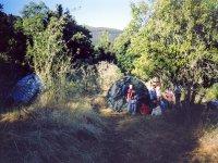 Acampadas en plena naturaleza