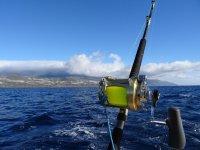 Material de pesca en barco en Tazacorte