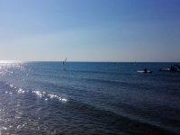 Las playas de Isla Cristina son perfectas para practicar kitesurf