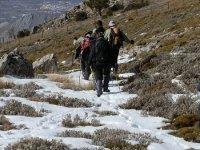 rutas en nieve