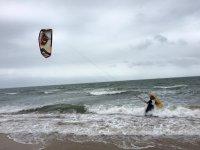 Kitesurf en las playas de Isla Cristina