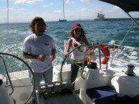 godendo la barca