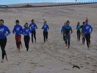 Riscaldarsi per il surf