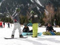 snowboard en La Molina