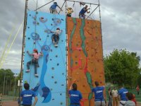 登山攀岩墙