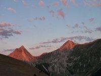 Montanas al amanecer