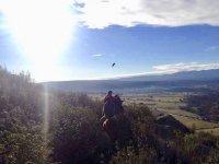 Cabalgando en la sierra