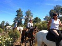 Route on horseback