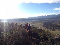 在La Pedriza骑马