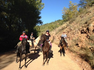 Horse ride weekend escape & lodging