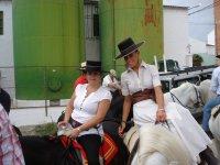 En la romeria con sombrero cordobes