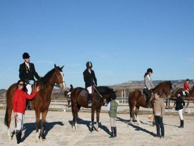 Ruta a caballo de 2 horas en Fontanar