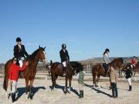 Ruta a caballo en Fontanar