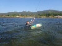 Learning kite in Bamio