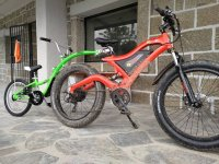 Bici electrica en tandem