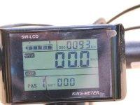 Pantalla LCD de la bici