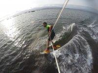 Aquilone professionale nel mare