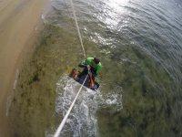 Levantando el vuelo con el kite