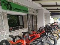 Instalaciones para el alquiler de fat bikes