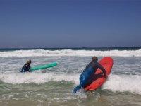 Tumbandose sobre la ola