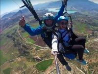 Parapente sobre Malaga con instructor