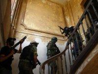 Jugadores subiendo la escalera