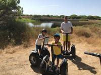 Visiting the marshes by segway