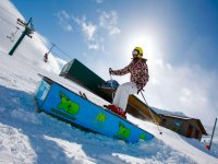 Learning to ski in Formigal