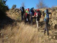 团体徒步旅行