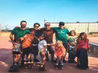 Skate en familia