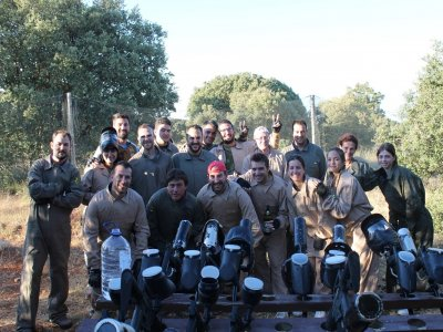 Paintball la Muela Team Building