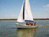 Jovenes en ruta en el velero