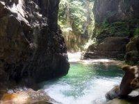 Canon del rio en Huesca