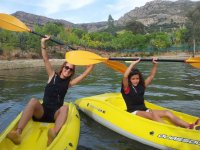 Kayaks para despedidas de soltero