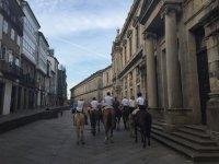 A caballo en Santiago