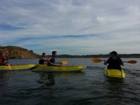 Kayaking with your coworkers