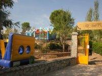 Instalaciones del campamento de ingles