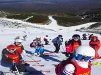 Cursos de esquí en La Pinilla