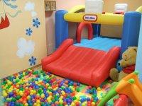 Slide balls pool