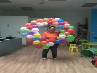 Decoration with balloon Peque WAC