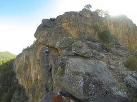 Zona de escalada