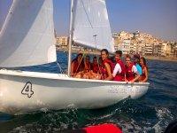 Colonia nautica Murcia Vela