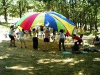 Juegos con el paracaidas