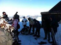 actividades en la nieve