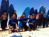 冲浪教练团队