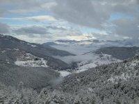 vistas desde la estacion de esqui