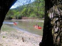 Piraguismo desde la ribera