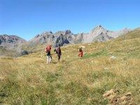 Acercandonos al monte